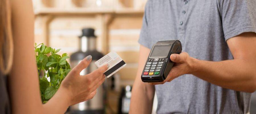 Un terminal de paiement électronique